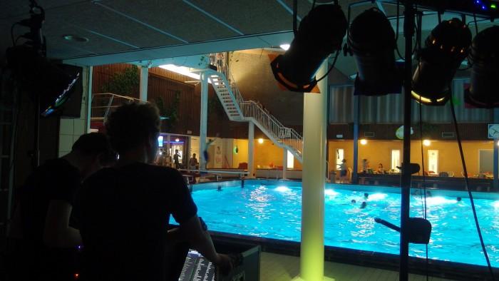 Discozwemmen in het Ataro Lentebad in Zevenaar