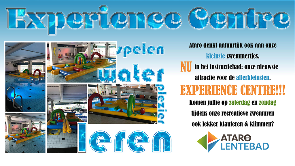 Experience Center voor peuters in Ataro Lentebad Zevenaar