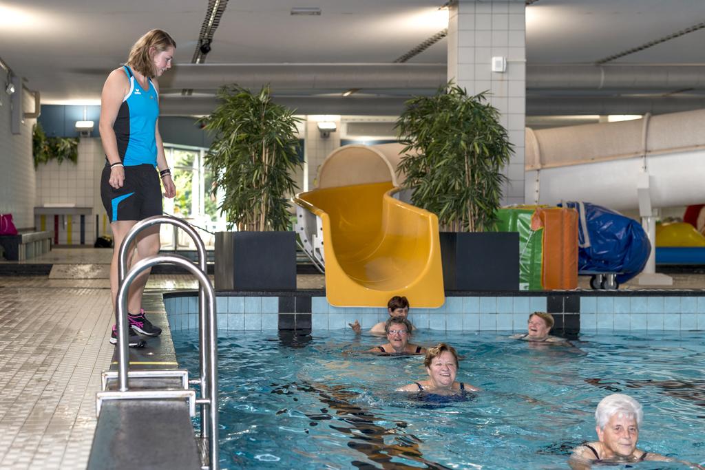 Ataro Lentebad, zwemles voor ouderen
