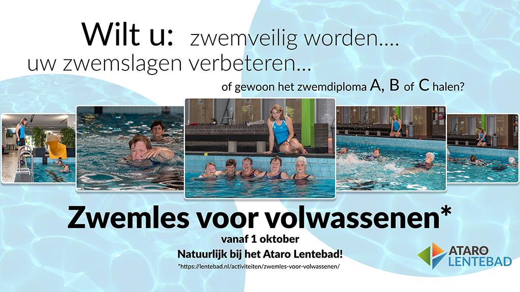 zwemles voor volwassenen, Ataro Lentebad, ouderen