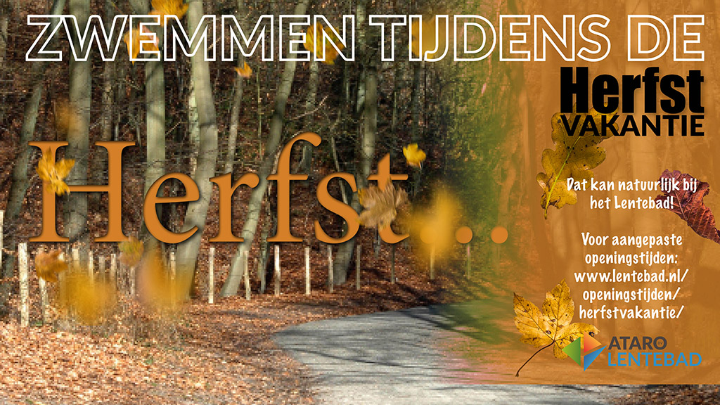 herfstvakantie 2018 Lentebad Zevenaar