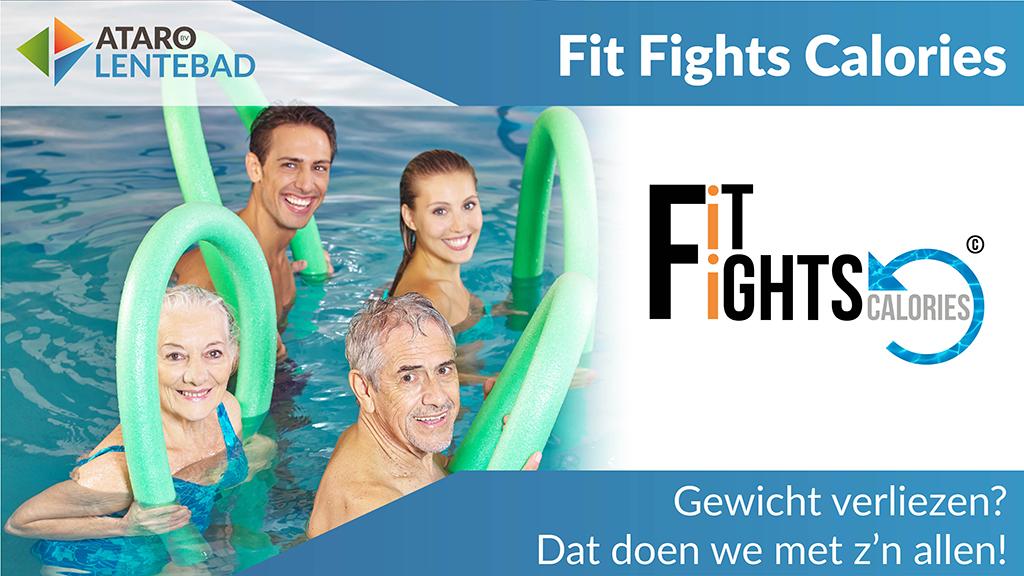 Fit Fights Calories, gewichtsverlies, afvallen, Ataro Lentebad, FFC